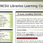 Kindle Loan Program at NC State Cites Kindle Durability